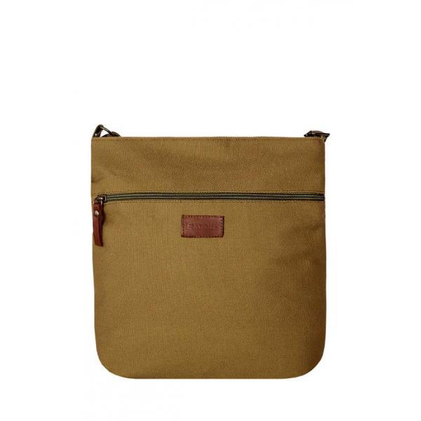 Сумка - планшет Женская Exodus Leather Canvas America Коричневый P0803EX061