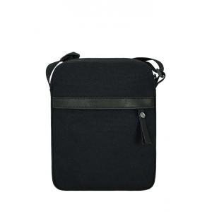 Сумка - планшет Унисекс Exodus Leather Canvas Черный P2401EX012
