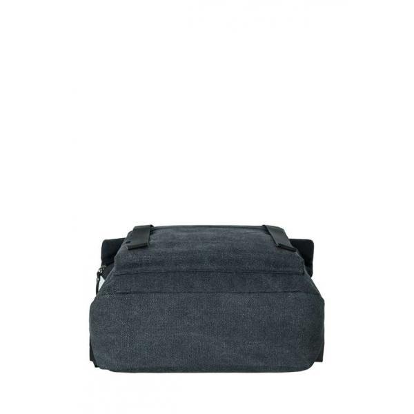Рюкзак Унисекс Exodus Leather  Canvas Серый R6401EX021
