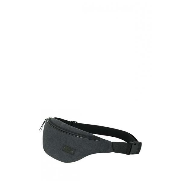 Сумка - Бананка на пояс Exodus Leather  Canvas Серый P2103EX021