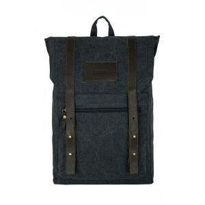 Рюкзак Унисекс Exodus Leather & Canvas  Серый R0502EX021