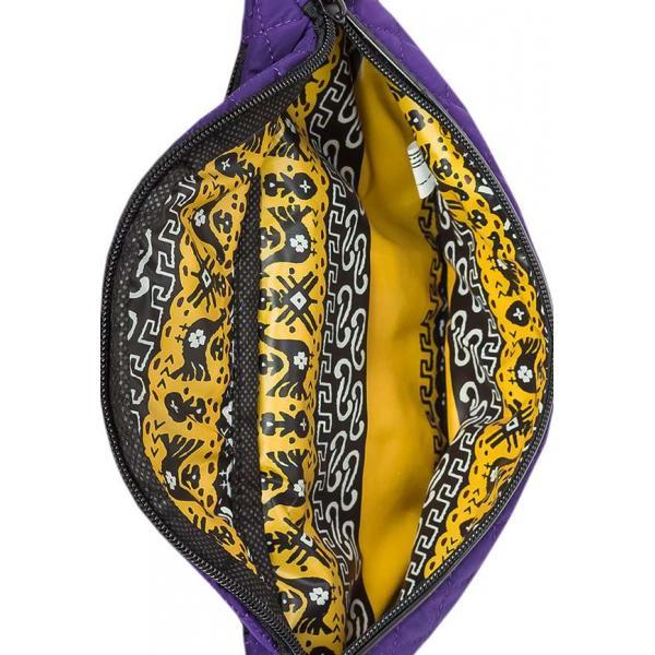 Сумка - Бананка на пояс Exodus Denver Фиолетовый P2102EX082