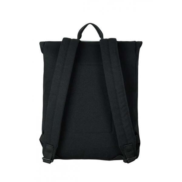 Рюкзак Унисекс Exodus Leather Canvas Черный R0503EX011