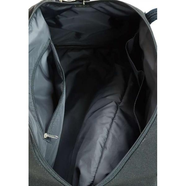 Сумка Дорожная Унисекс Exodus Leather Canvas Черный D1402EX011
